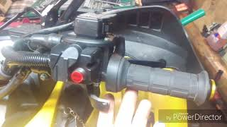 Квадроцикл Русская механика РМ-650-2, 650, 500, 800 установка  подогрева ручек