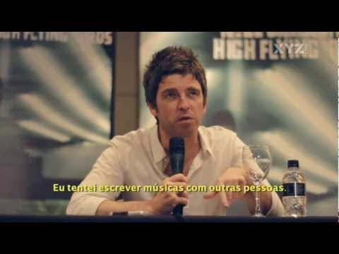 FULL Noel Gallagher press conference + live footage in Brazil, São Paulo, May 2012