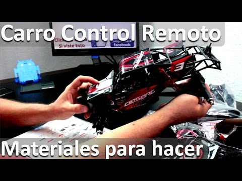 Materiales Para Carro A Control Remoto Kit Para Armar Carro Con