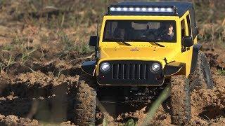 Тест-драйв нового Jeep Rubicon на шасі MST CFX-W