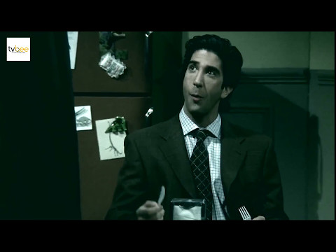 """Friends"": Ross Geller without laugh track = psychopath"