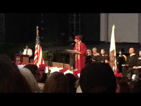 Valedictorian Speech Laguna Beach High School