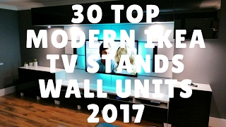 30 Top Modern IKEA TV Stands Wall Units 2018