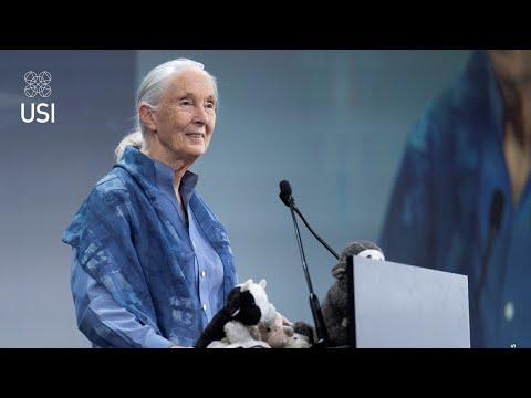 Reason For Hope - Jane Goodall, At USI