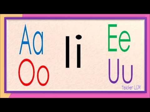 A E I O U | Mga Patinig