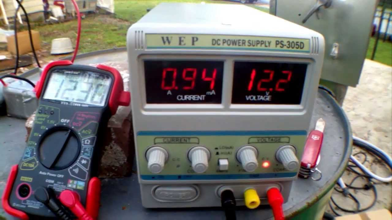 Variable DC Power Supply 30v 5a  YouTube