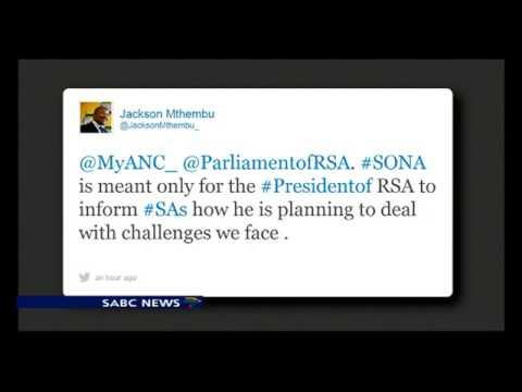 Social media #SONA