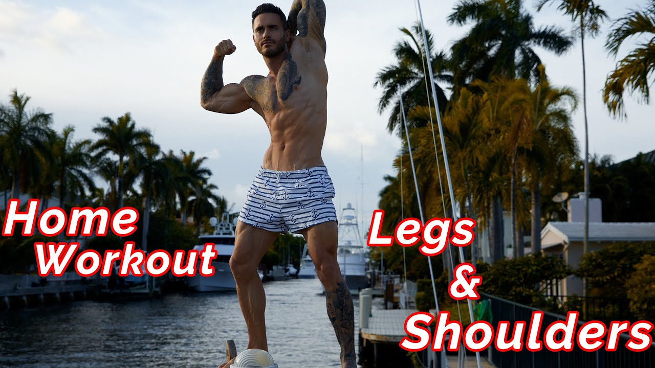 Home Workout 22 Legs & Shoulders | Mike Chabot
