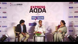 P Chidambaram At Express Adda
