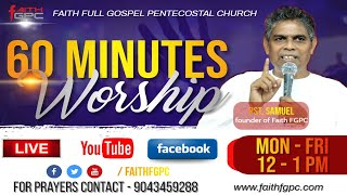 Faith FGPC Live 11-08-2020 | 60 minutes Prayer