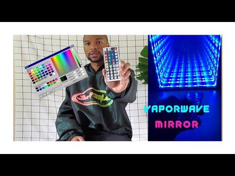 DIY- VaporWave/Outrun Infinity Mirror