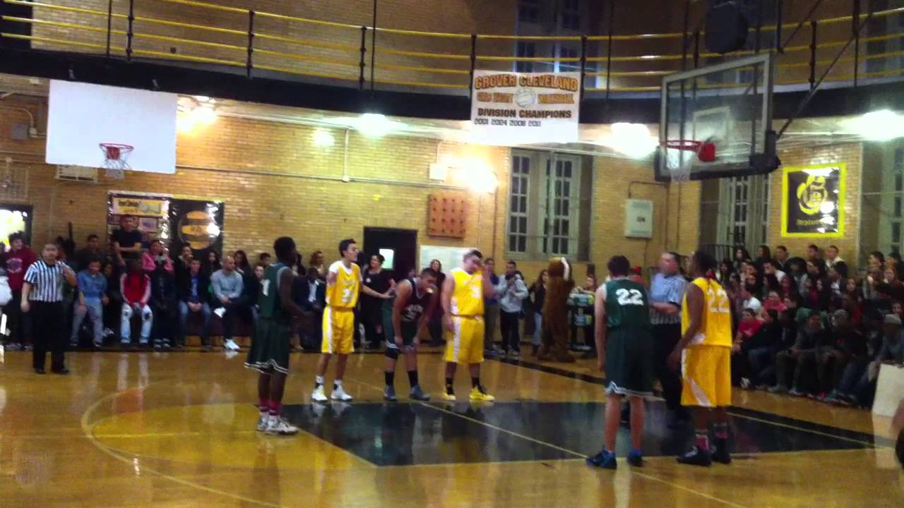 Grover Cleveland High School Home Coming Basketball Game