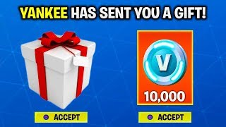 THE *NEW* GIFTING SYSTEM👀- THE TRUTH ABOUT GIFTING in FORTNITE! [SAD NEWS ABOUT HOW TO GIFT SKINS]