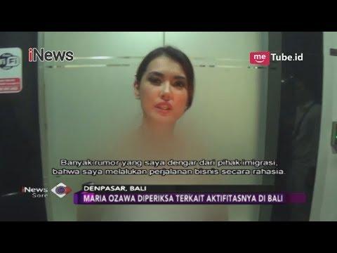 Diduga Menyalahi Izin, Maria Ozawa Diperiksa Terkait Aktivitasnya Di Bali - INews Sore 07/11