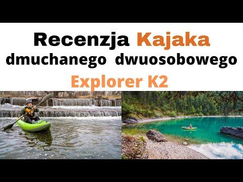 Kajak dmuchany Intex Explorer K2 dwuosobowy 🛶 Recenzja i wskazówki 🛶