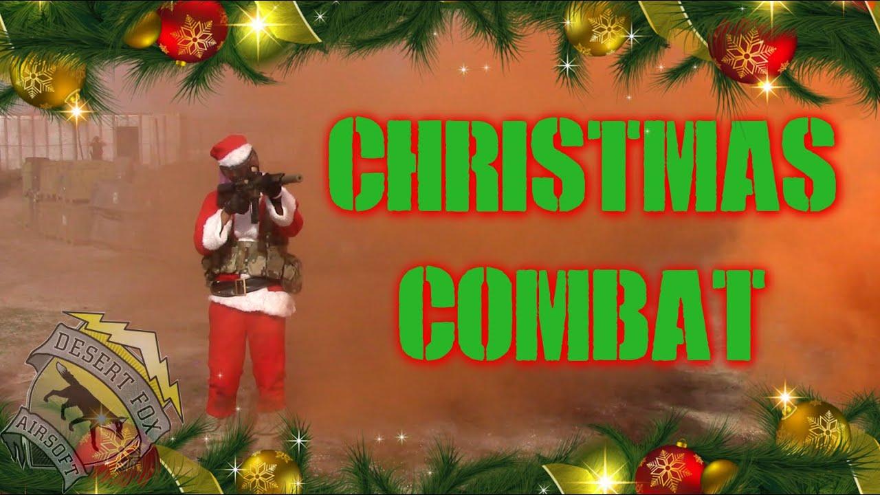 DesertFox Airsoft: Christmas Combat 2014 (GoPro 4 120 Frames Slow ...