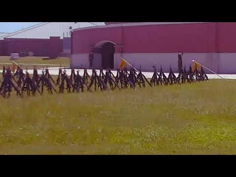 Parris Island South Carolina ( Brandon graduation practice August 23rd 2017 )
