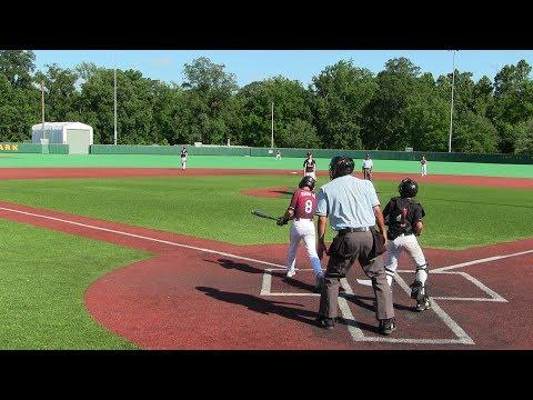New York Heat Baseball vs Diamond Baseball Academy 13U Youth World Series July 2017