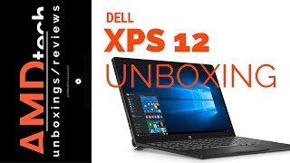 Dell XPS 12 Unboxing and First Impressions (4K)