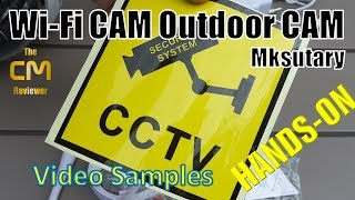 Mksutary PTZ Security Cam Test: Outdoor | optischer Zoom | Schwenk  ...