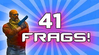 Global Elite with 41 FRAGS!
