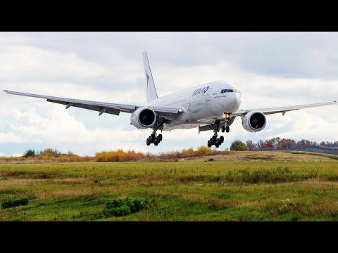 Boeing 777-200 а/к ИрАэро | Рейс Бургас - Санкт-Петербург