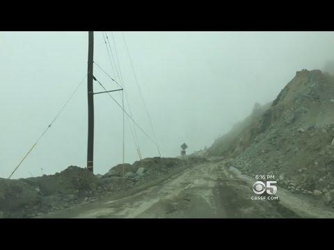 Big Sur Monks Stranded By Mudslide On Highway 1