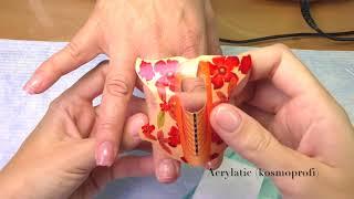 Как наращивать ногти ПОЛИГЕЛЕМ | Наращивание на ФОРМЫ