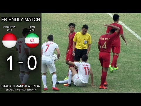 Indonesia Vs Iran U-19 Highlights & Gol Friendly Match Live Stadion Mandala Krida Yogyakarta