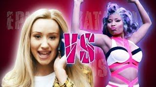 Iggy Azalea vs Nicki Minaj. Epicas Batallas de Rap de Famosos