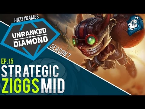 STRATEGIC ZIGGS MID - Unranked to Diamond - Episode 15