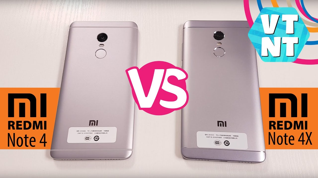 Xiaomi Redmi Note 4 Vs Redmi Note 3: Xiaomi Redmi Note 4 Vs Xiaomi Redmi Note 4x Сравнение. Что