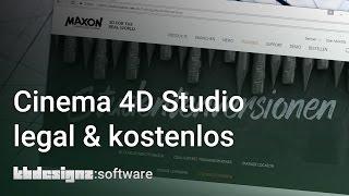 CINEMA 4D KOSTENLOS UND LEGAL BEKOMMEN   kbdesignz:software