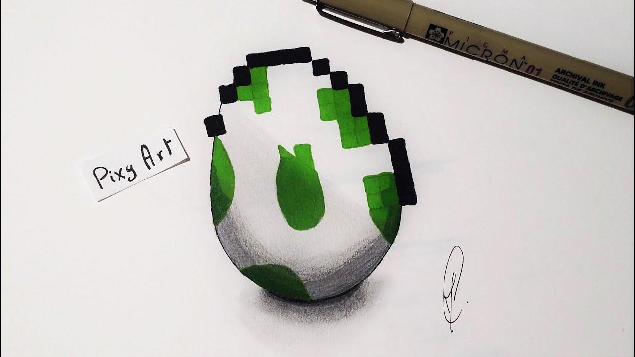 Yoshi Egg Fantasy Drawing