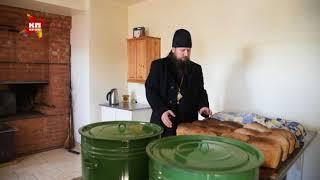 Будни Михаило-Архангельского мужского монастыря в деревне Козиха