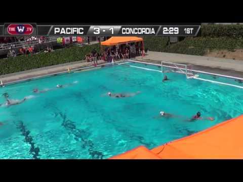 WOMEN'S WATER POLO: Pacific vs. Concordia