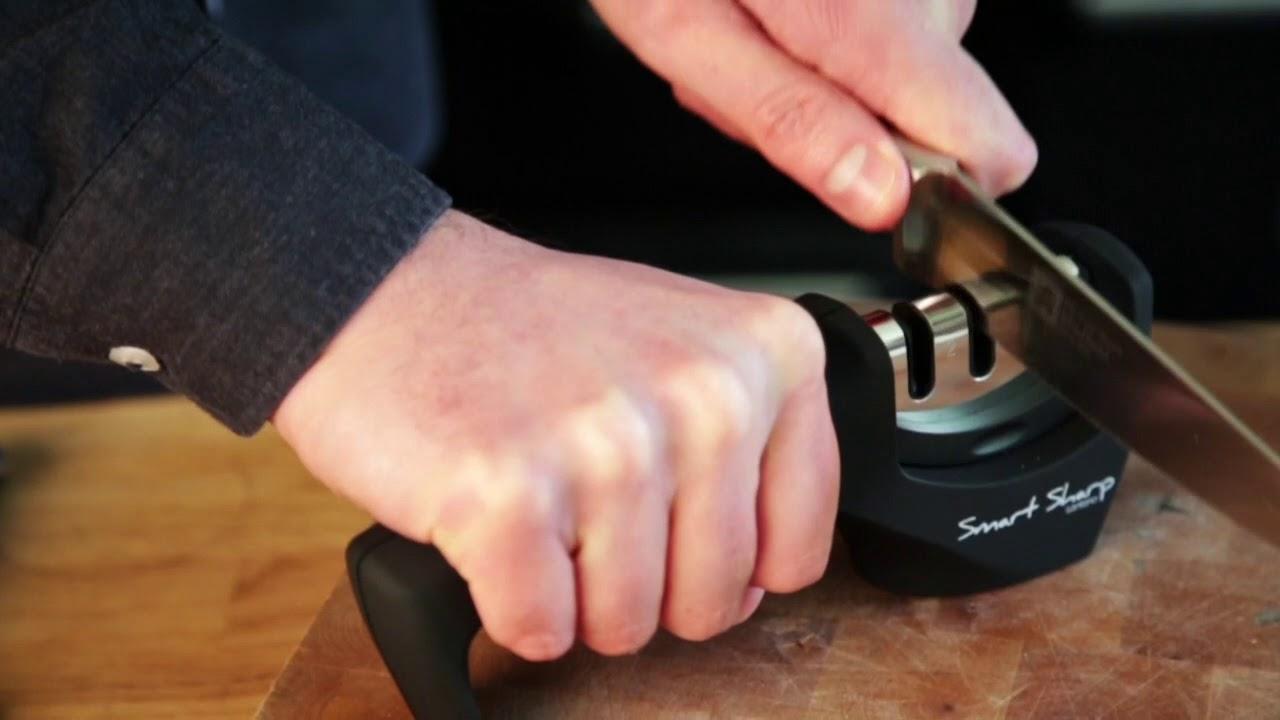 Smart Sharp Kitchen Knife Sharpener by Lantana - Quick Start Instructions