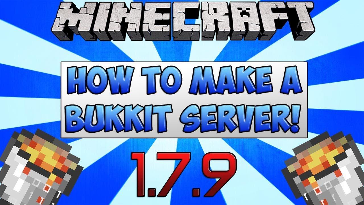 minecraft 1.7.9 bukkit server