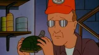 Dale Gribble and his turtle (hun)