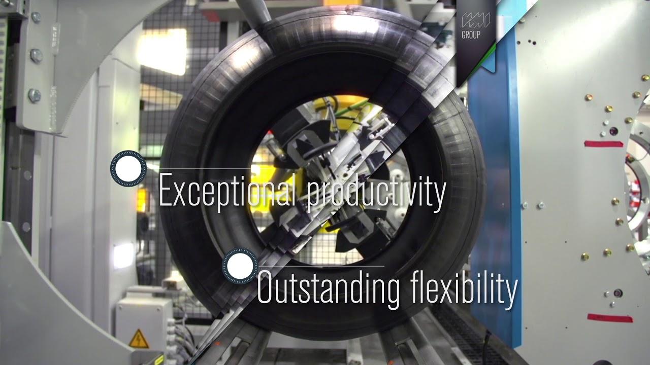 VMI MAXX radial passenger tire building machine – VMI Group