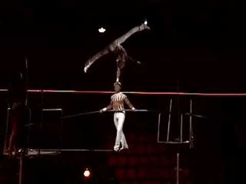 Equilibrist On The High Wire