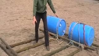 Instructievideo vlotbouwen deel 6: Het vlot maken in de juiste volgorde