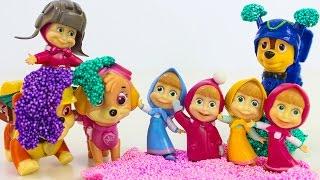 Щенячий патруль новые серии Развивающие мультики Маша и Медведь Игрушки Киндер сюрпризы для детей