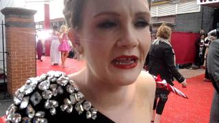 Katherine Kelly, Jennie McAlpine, Natalie Anderson at BritishSoapAwards.mp4