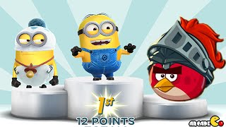 Despicable Me: Minion Rush Minion Race Sonic Dash Angry Birds Epic Takeover Bomb To Unlock!
