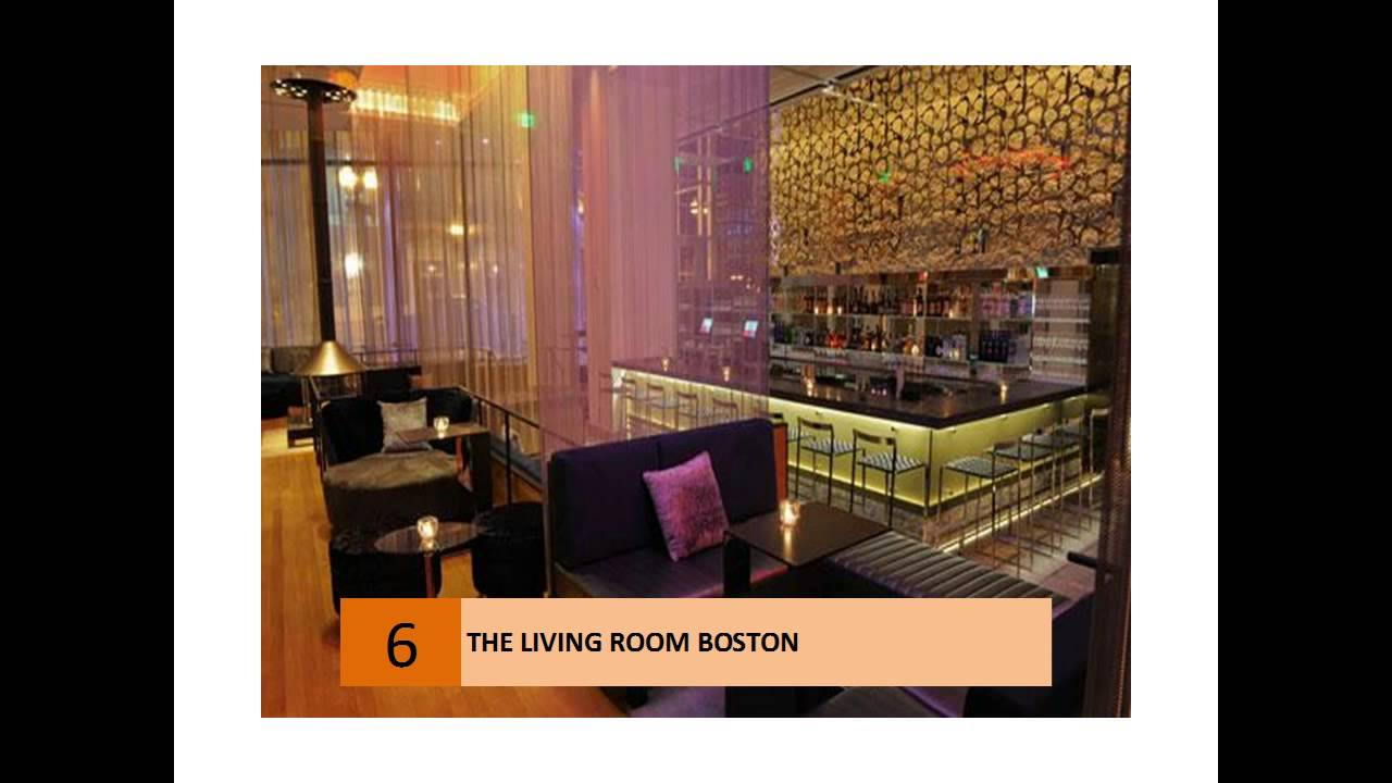 The Living Room Restaurant - Boston - YouTube