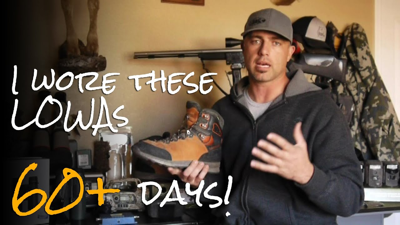 Lowa Backpacking Hunting Boot Review Youtube