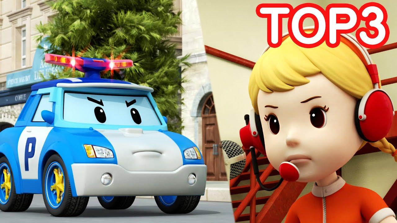 Strumenti Magici di Jin | Robocar POLI TOP 3 | Cartoon per Bambini | Robocar POLI tivù