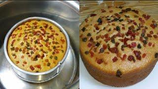 Suji Cake Without Oven - Eggless rava cake