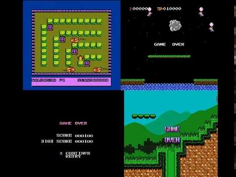 Game over NES Video Grid 4